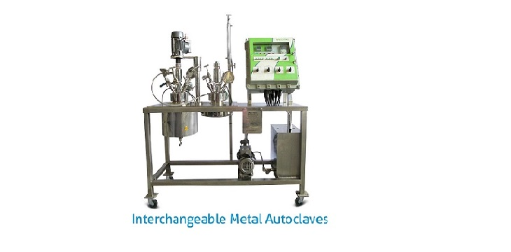 Interchangeable Metal High Pressure Autoclave